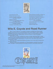 #0013 33c Road Runner Stamp #3391a Souvenir Page