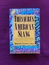 Thesaurus of American Slang