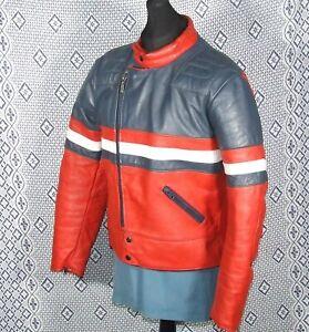 Vintage SCOTT Leather Motorcycle Jacket 44