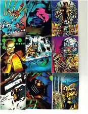 1992 Wolverine Trading Cards (by Comic Images).  Three cards for $1.