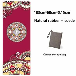 Yoga Mat Printing Towel Folding Absorbent Portable Travel Pilates Non Slip Pads