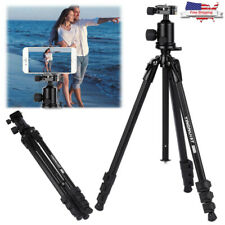 Universal Digital/Video Camera Camcorder Tripod Stand For DSLR With Nylon Bag US