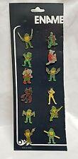 Paket 12 Pin Enamel Anstecknadel Serie Bogen Verkaufsständer Turtles Mutants
