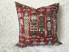 Handmade Cushion Cover | African Tribal Print | Zip Fastening | NEW