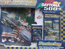 1999 Daytona 500 Official Collector's Pack Program Pin Card Set Video New Sealed