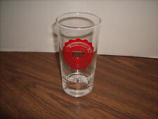 Indiana  Hoosiers Drinking Glass Excellent Shape