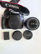 Canon EOS Rebel SL1 18.0MP Digital SLR Camera, 18-55mm IS Lens, Battery, Charger