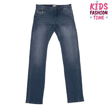 J Be Jogg Jeans Size M / 9Y Stretch Worn Look Faded Effect