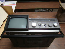 "Astra 5"" Dia B/W Television AM/FM Radio with Cassette"