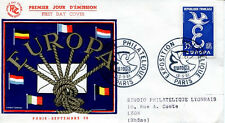 FRANCE FDC - 265b 1174 1 EUROPA EXPO PHILATELIQUE PARIS 13 9 1958