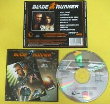CD SOUNDTRACK BLADE RUNNER New American Orchestra 1982 WEA 2292-50002-2 (OST8)