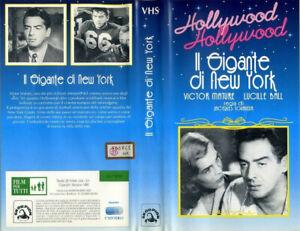 IL GIGANTE DI NEW YORK 1949 JACQUES TOURNEUR VHS ORIGINALE SCORPION COME NUOVA