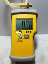 Manometer gauge UEI EM151 used one time, been in tool box since.