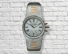 57cm Giant Silver Wrist Watch Metal Wall Clock Vintage Retro Home Big - FREE P+P