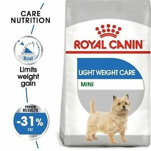 Royal Canin Mini Light Weight Care Dry Adult Dog Food FREE NEXT DAY DELIVERY