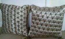 Debenhams cushions gold with tassels