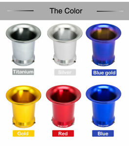 50mm Motorcycle Air Filter Horn Cup Velocity Stacks For 24/26/28/30mm Carb