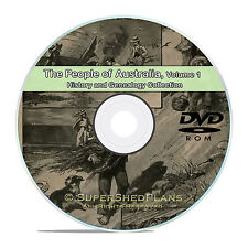 Australia Vol 1, People Family Tree History and Genealogy 163 Books DVD CD B29