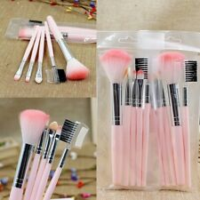 HOT 5pcs Pink Makeup Cosmetic Brushes Set Powder Foundation Eyeshadow Lip Brush