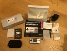 Nintendo Game Boy Micro Silver - Handheld System - Boxed complete - V.good Cond.