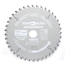 Shark Blades Pro TCT Circular Saw Blade 190mm x 30 x 40 Teeth fits Freud Bosch