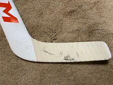 JOHN GIBSON 19'20 Anaheim Ducks Game Used Goalie Hockey Stick NHL COA 1
