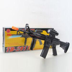 KIDS TOY Rifle Gun with Flashing Lights Sound Vibration TD2011 UK SELLER TOYS