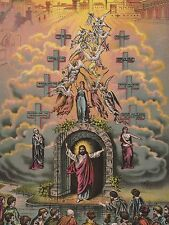 "*Postcard-""Jesus Christ @ Gates of Heaven""-(V-2)"