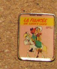 "A38 VINTAGE PIN LUCKY LUKE FIANCÉE BD CARTOON 1"""