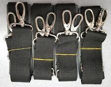 4-pack Adjustable Shoulder Straps for Universal Bag or Case - Large Metal Clasp