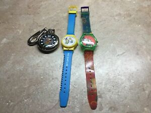 Vintage MICKEY MOUSE , Scooby Doo, Simpson's, Watches- Need Batteries