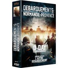 Dvd - Coffret Débarquements Normandie Provence - Koba Films