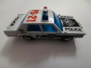 1987 Matchbox Ford Police Car 1:69 Scale