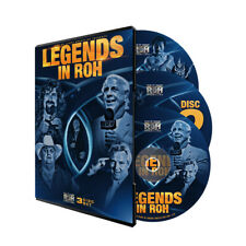 Official ROH Ring of Honor  - Legends in ROH (3 Disc Set) DVD