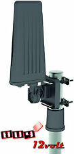 QFX ANT-110 All Weather Outdoor TV Antenna for HD/DTV/UHF/VHF