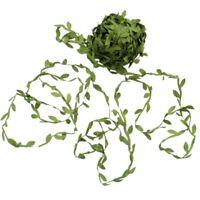 20M Home Decor Artificial Garland Plants Vine Fake Foliage Flowers Creeper F5C8