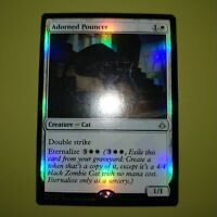 FOIL Adorned Pouncer x1 Hour of Devastation 1x Magic the Gathering MTG