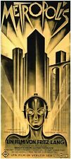 Metropolis Fritz Lang (1927) vintage style movie poster reprint 18 x 36 inches