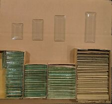 "Mixed Lot of 119 - 2"" Clear Rectangle Glass Bevels (Stained Glass Supplies)"