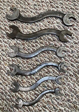 "Vintage 6 Piece ""S"" Shaped Wrench Set - Rare And Hard To Find! - Free Shipping!"