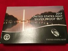 2017 United States Mint Silver Proof Set w/COA