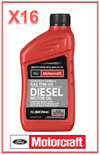 16 Quarts Diesel Engine Motor Oil FORD/Motorcraft SAE15W-40 Super Duty