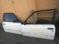 84-91 BMW E30 2Door Coupe Door Panel Shells Pair Left Right 318i 320 323 325