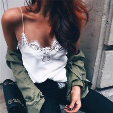 Fashion Women Summer Vest Top Sleeveless Casual Shirt Tops Blouse Tank T-shirt S