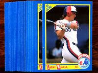 1990 Score LARRY WALKER RC ~ 20 CARDS LOT ~ #631 ROOKIE CARD ~ HOF? YES SlR!!!