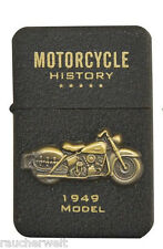 Gasfeuerzeug Feuerzeug  zum Sonderpreis aus der Retro Motorrad Modell Serie 002