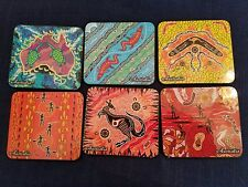 Australian Souvenir Coasters - set of 6 - NEW