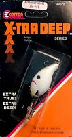 Vintage Cotton Cordell Pearl Black Back X-TRA DEEP Series Fishing Lure