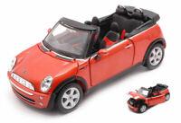Model Car Scale 1:24 Maisto Mini Cooper Cabriolet Cabrio diecast vehicles