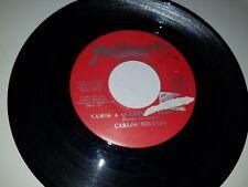 """CARLOS MIRANDA Vamos A / No Como Tu FREDDIE 383 45 VINYL 7"""" TEJANO RECORD"""